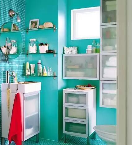 节省浴室空间的好设计!值得一看!_2