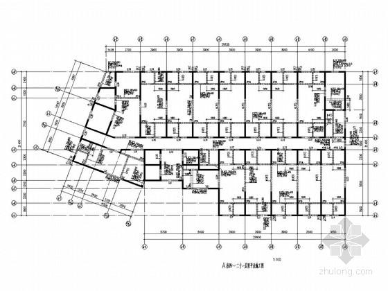 [河南]33层剪力墙结构商住楼结构施工图(334张图)