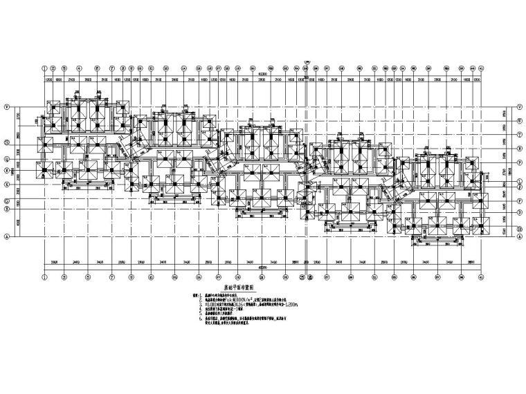 [浙江]地上五层框架结构多层住宅楼结构施工图