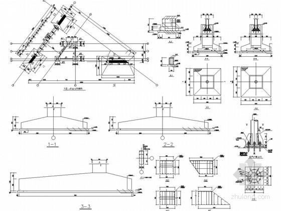 [南京]艺术学院主楼辅楼及车库传达室结构施工图