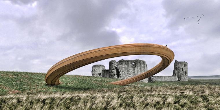 英国威尔士铁环装置