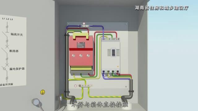 湖南省建筑施工安全生产标准化系列视频—施工用电_23
