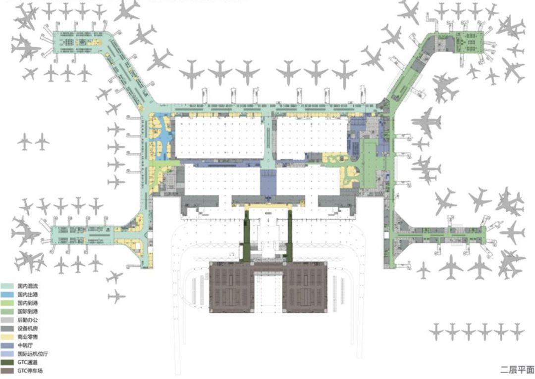 漫谈金属屋面的建筑设计应用(1)——广州新白云国际机场航站楼_20