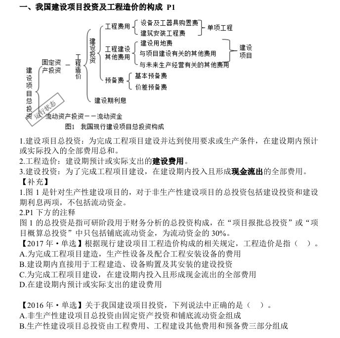 造价师考试计价专题培训讲义(PDF格式)