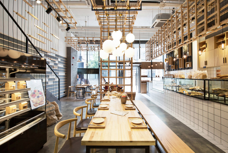 武汉美自在烘焙餐厅-1-Beauty-Free-Baking-Restaurants-by-ZONES-DESIGN