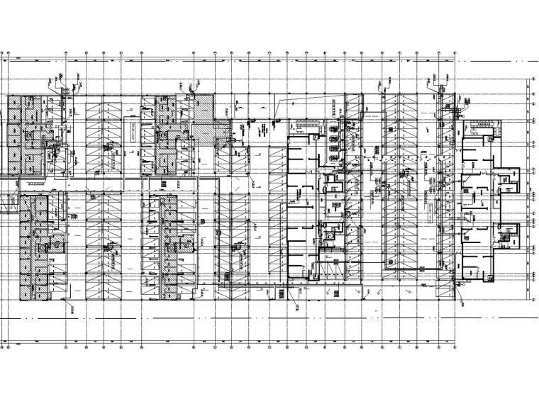 [安徽]大型商业综合体13栋建筑给水排水消防全套施工图122张