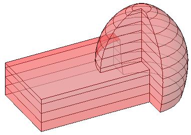 Revit使用体量楼层的划分重量,标出分析概念设计的重点