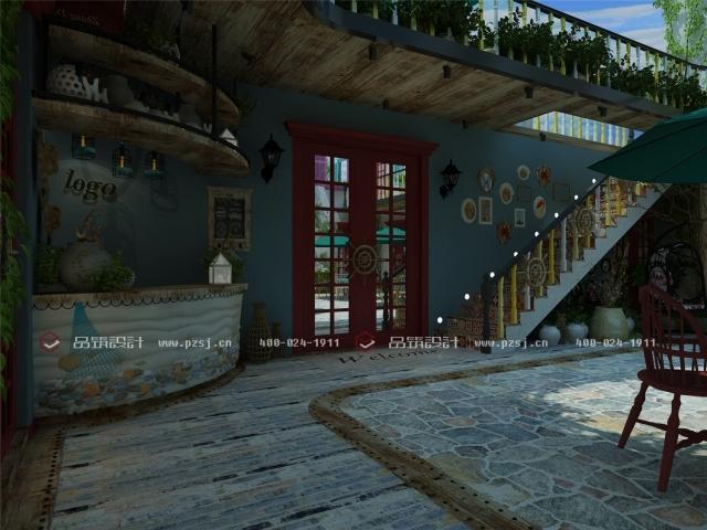 据说这是丹东最美的休闲度假民宿设计,快去瞧瞧-09内庭院日.jpg