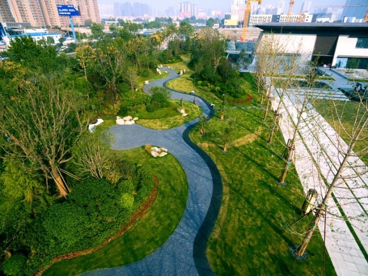 西安中铁西派国际住宅景观-5