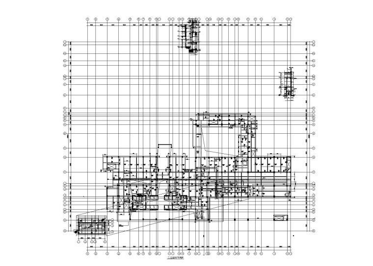 [上海]31层超高层框筒结构办公楼(裙房为商业及酒店)结构施工图(2013)