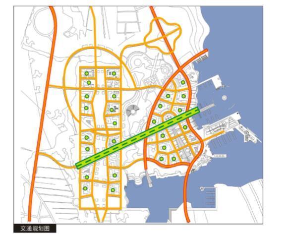 抚州市城市新区中心区控制性详细规划设计方案-交通规划图