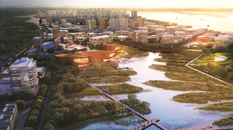 [马来西亚]森林城市项目景观概念规划方案文本(生态,可持续)