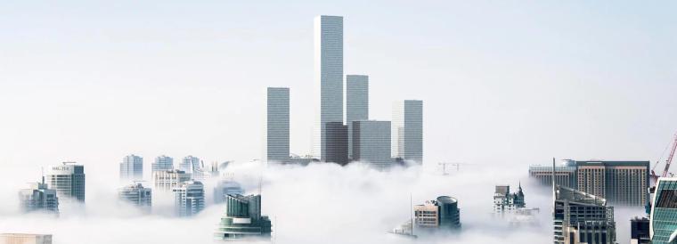 """磁悬浮电梯将在未来打造多层次的""""空中城市"""""""