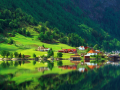[四川]生态田园绿色低碳小镇旅游度假村景观设计方案