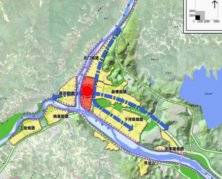 [四川]北川羌族安昌镇总体规划设计(城乡规划)