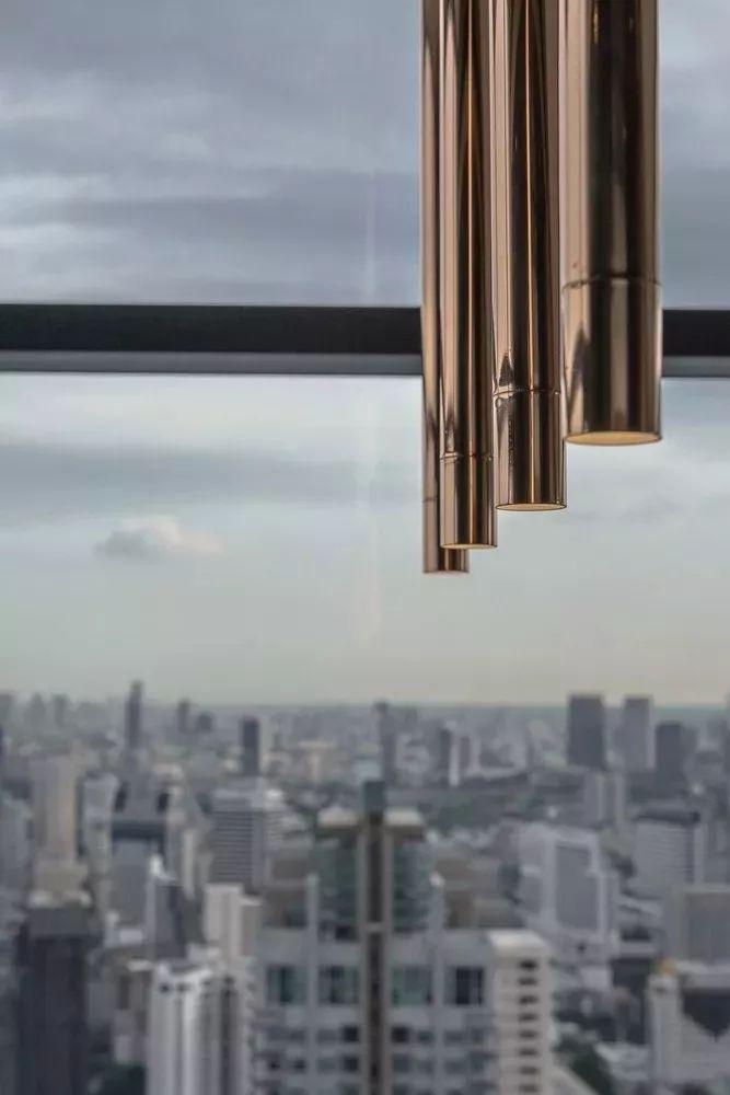 室内设计 130㎡的单身公寓,设计感十足_26
