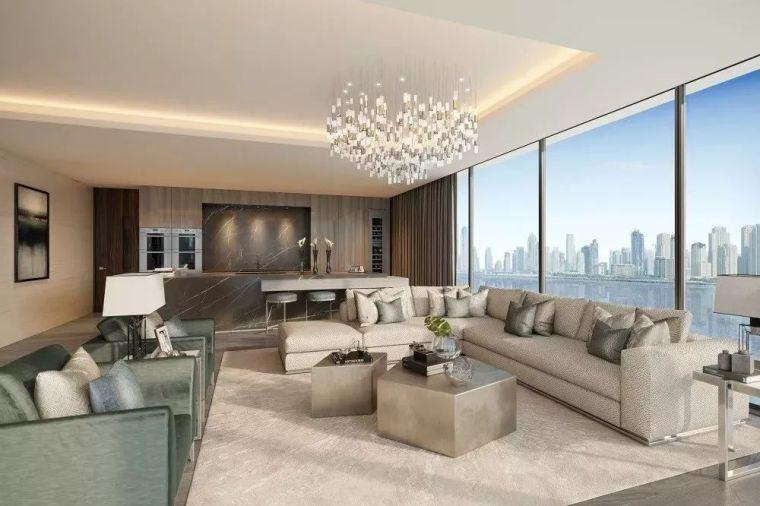 """迪拜造了""""天空中的别墅"""",最小户型300平米,顶层复式卖3.4亿_18"""