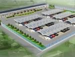 室外停车场3D模型下载