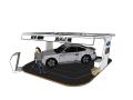 汽车展台SketchUp模型下载