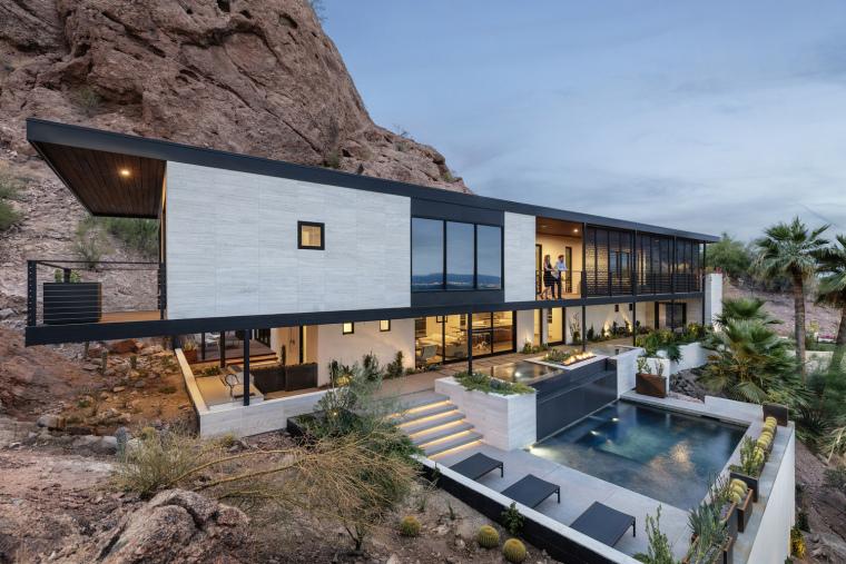 美国建筑公司改造的红石别墅