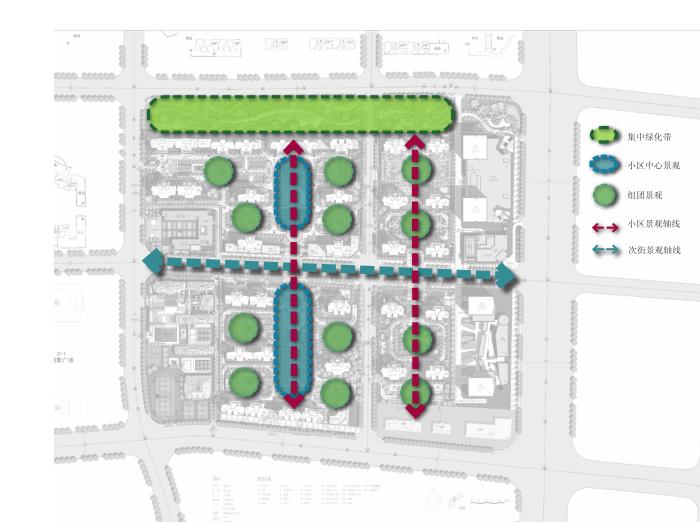 绿地滨河国际D-2D地块建筑设计方案文本_7