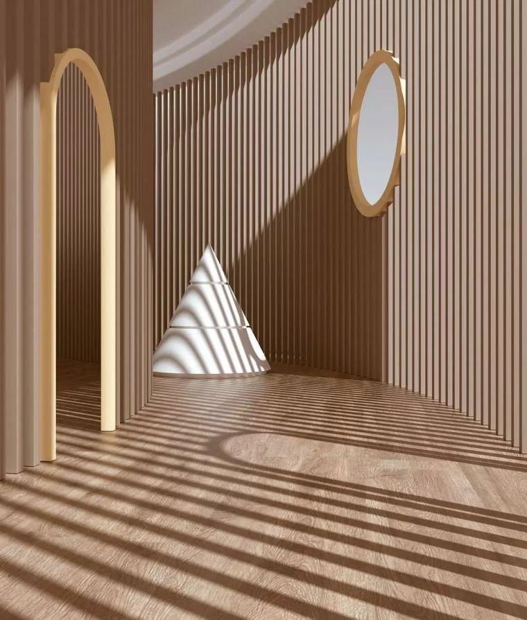 建筑设计中的点线面_4