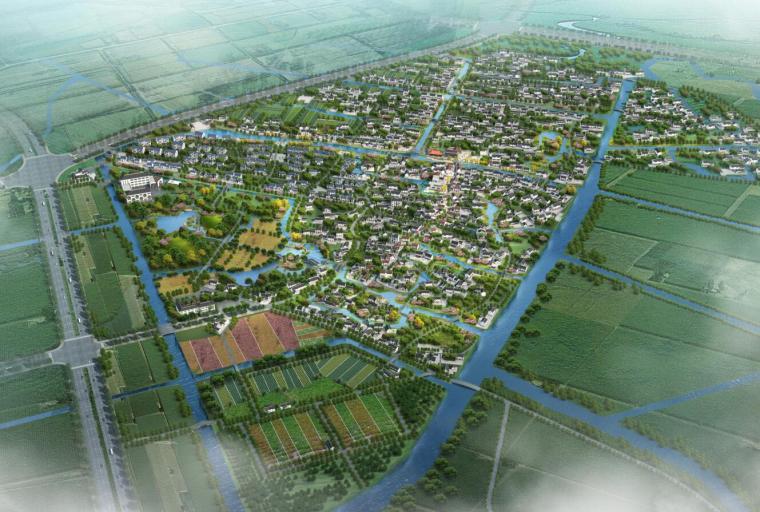 [上海]某镇拾村村村庄规划景观设计文本PDF(245页)