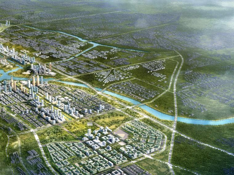 [河南]郑州惠济区城市景观规划设计(滨水)