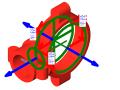 bim族库-revit族文件-镀锌-机械三通-卡箍螺纹