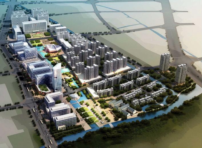 [浙江]宁波姜山镇行政中心规划设计方案文本