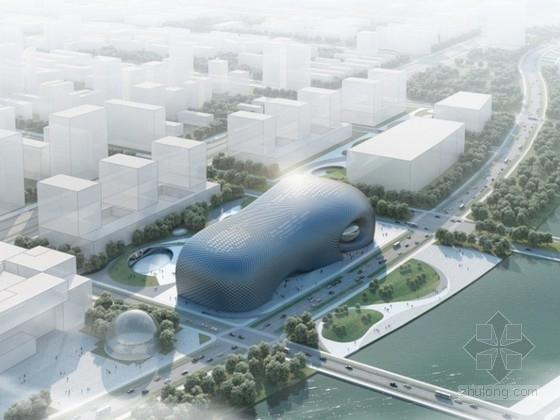 美术馆设计模型资料下载-[合集]3套大型省级美术馆建筑设计方案文本