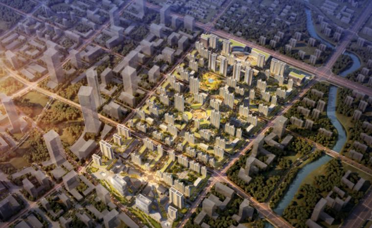 [山东]绿地集团CBD高层居住区及配套商业建筑规划设计方案文本