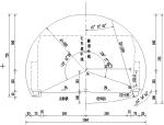 隧道棚洞的全套设计施工图纸cad版