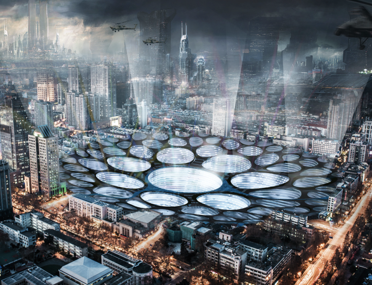 IFLA获奖作品集合资料下载-2013摩天大楼设计竞赛eVoloSkyscraperCompetition获奖作品