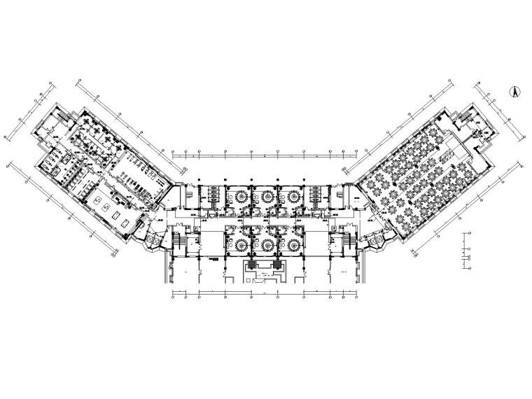 [新疆]金螳螂设计——沙湾大酒店内部装修施工图(附效果图+设计文案)