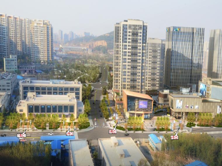 [青岛]地下商业街与地铁连通工程规划方案