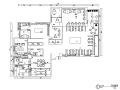 现代简约装饰公司办公空间设计施工图(附效果图)