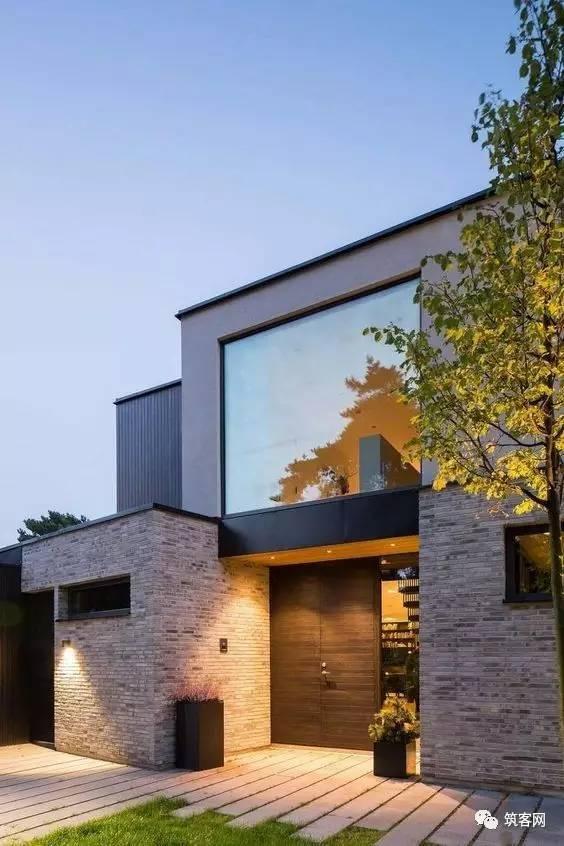 40款·简洁的现代别墅设计_25