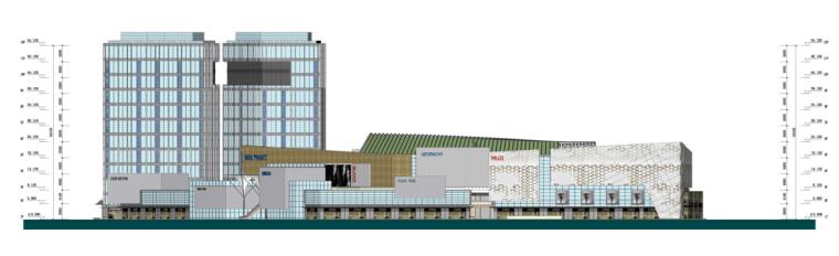 [浙江]高层现代经典风格商业及金融办公中心建筑设计方案文本_9