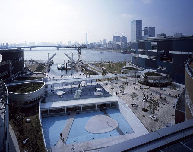 1-东京丰州LaLaport码头休闲区景观设计第1张图片