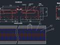 桥梁设计中8种型号伸缩缝安装示意图