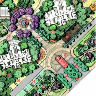 [长春]城市贸易中心公园景观住宅景观规划设计方案_5