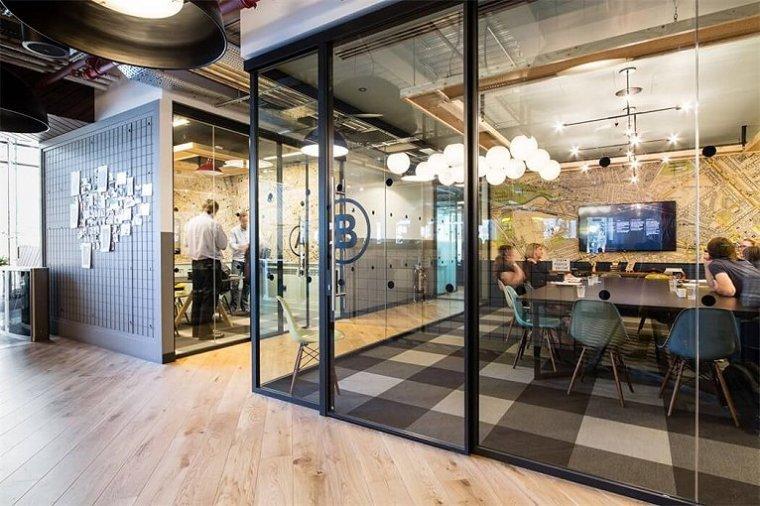咖啡厅风格的联合办公空间-帕丁顿区WEWORK联合办公室室内实景图 (13)