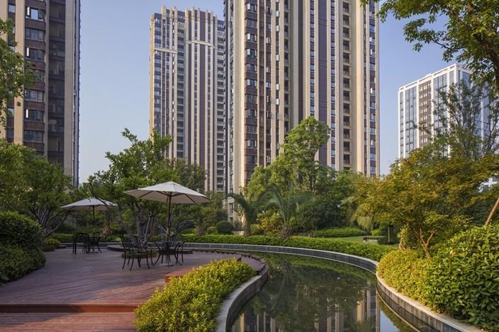 杭州融创瑷颐湾住宅景观
