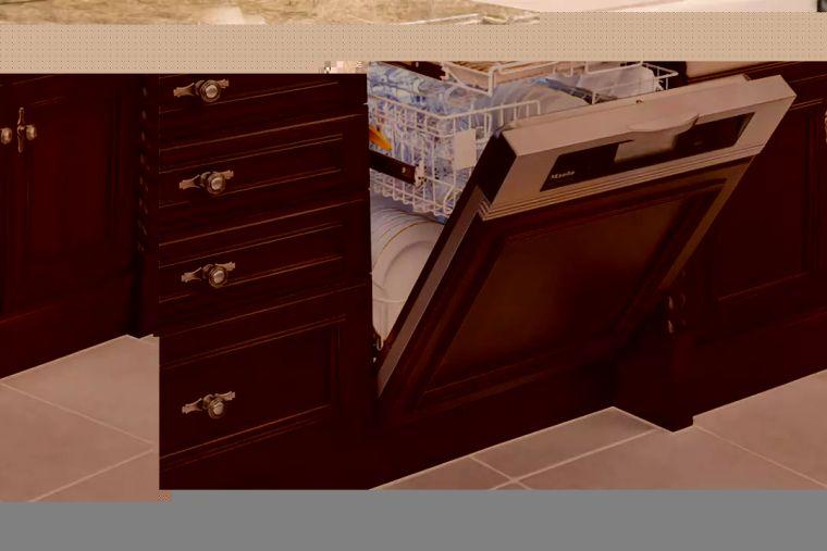 扒一扒,厨房中洗碗机那些装修事儿_5
