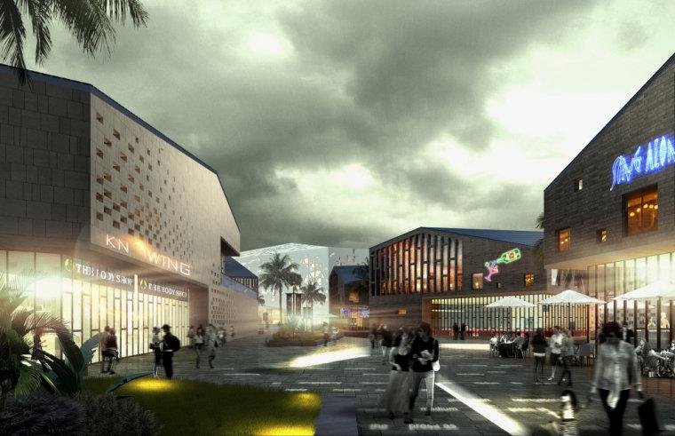 商业街su模型现代主义风格建筑设计-20150902_141208_381