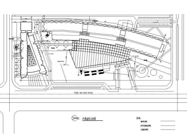 3套现代宾馆酒店建筑设计施工图CAD_19