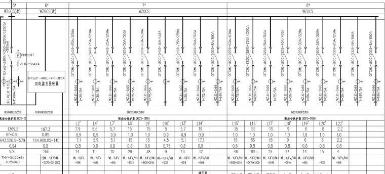 VV住宅资料下载-某高层住宅全套电气图纸