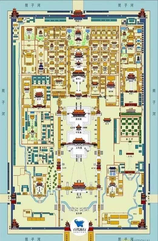 故宫三大殿周围为何没有一棵树?_1