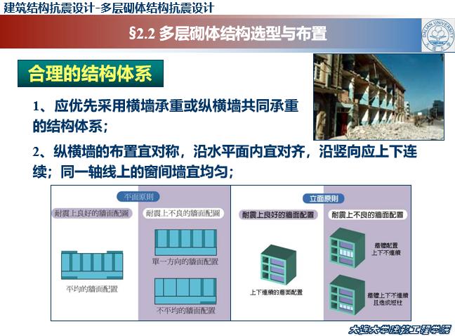 多层砌体结构抗震设计